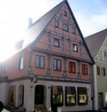 Wemdinger Stadtring in 3D zeigt Fachwerkhaus Brenner im Jahr 1460 erbaut