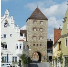 Wemdinger Stadtring in 3D zeigt Amerbacher Tor