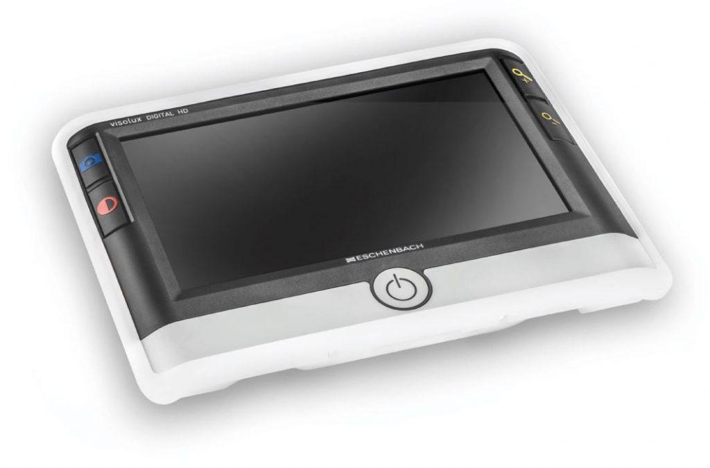 Elektronische Sehhilfe Visolux Digital HD für hochgradig sehbehinderte Menschen.