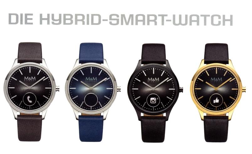 Hybrid-Smart-Watch Armbanduhr