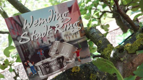 Wemdinger Stadtring in Silber und schwarzmatt